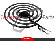 "Brown Stove Range Cooktop Stove 8"" Large Heavy Duty Surface Burner 1841M037"