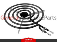"Brown Stove Range Cooktop Stove 8"" Large Surface Burner Heating Element 1841M037"