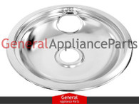 "Bosch Thermador Gaggenau Cooktop 8"" Chrome Drip Bowl 487395 14-41-819 14-41-758"