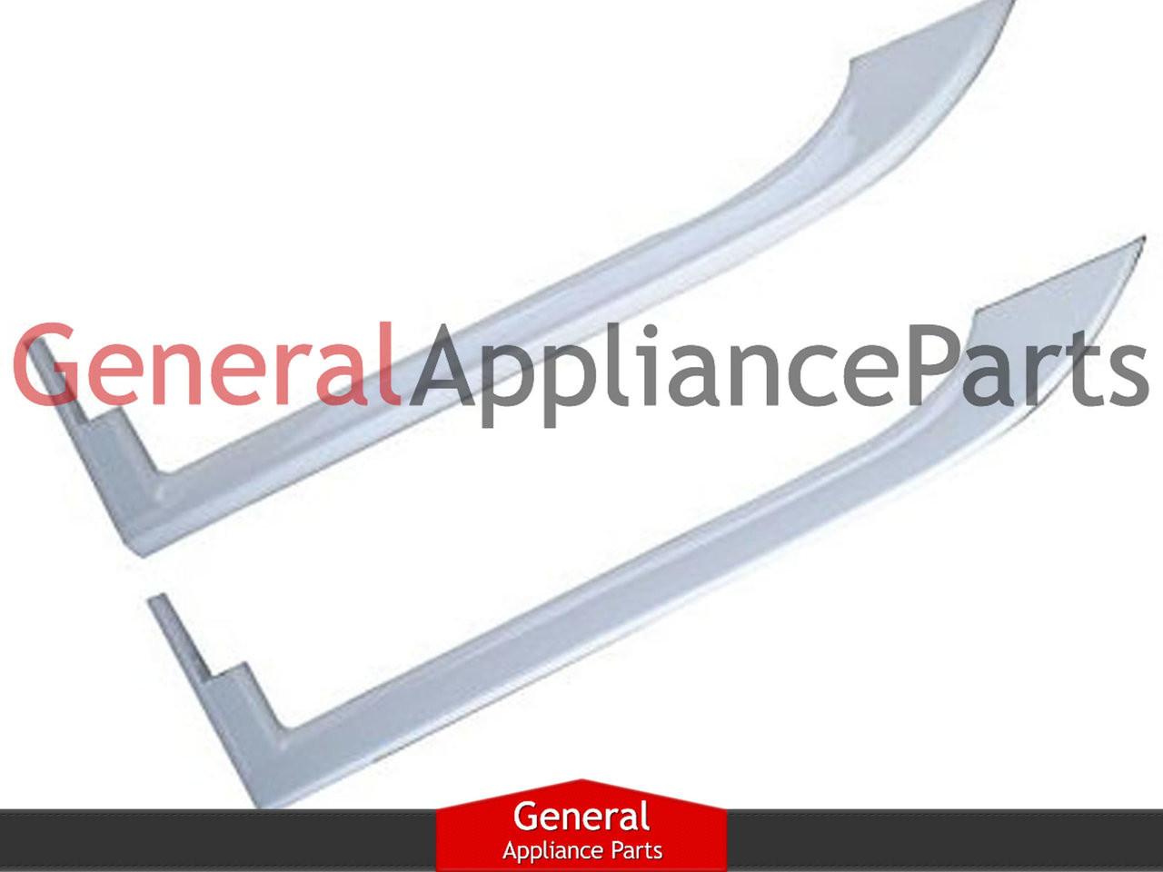 2 Pack Frigidaire White Refrigerator Door Handle 5304497105 242059501