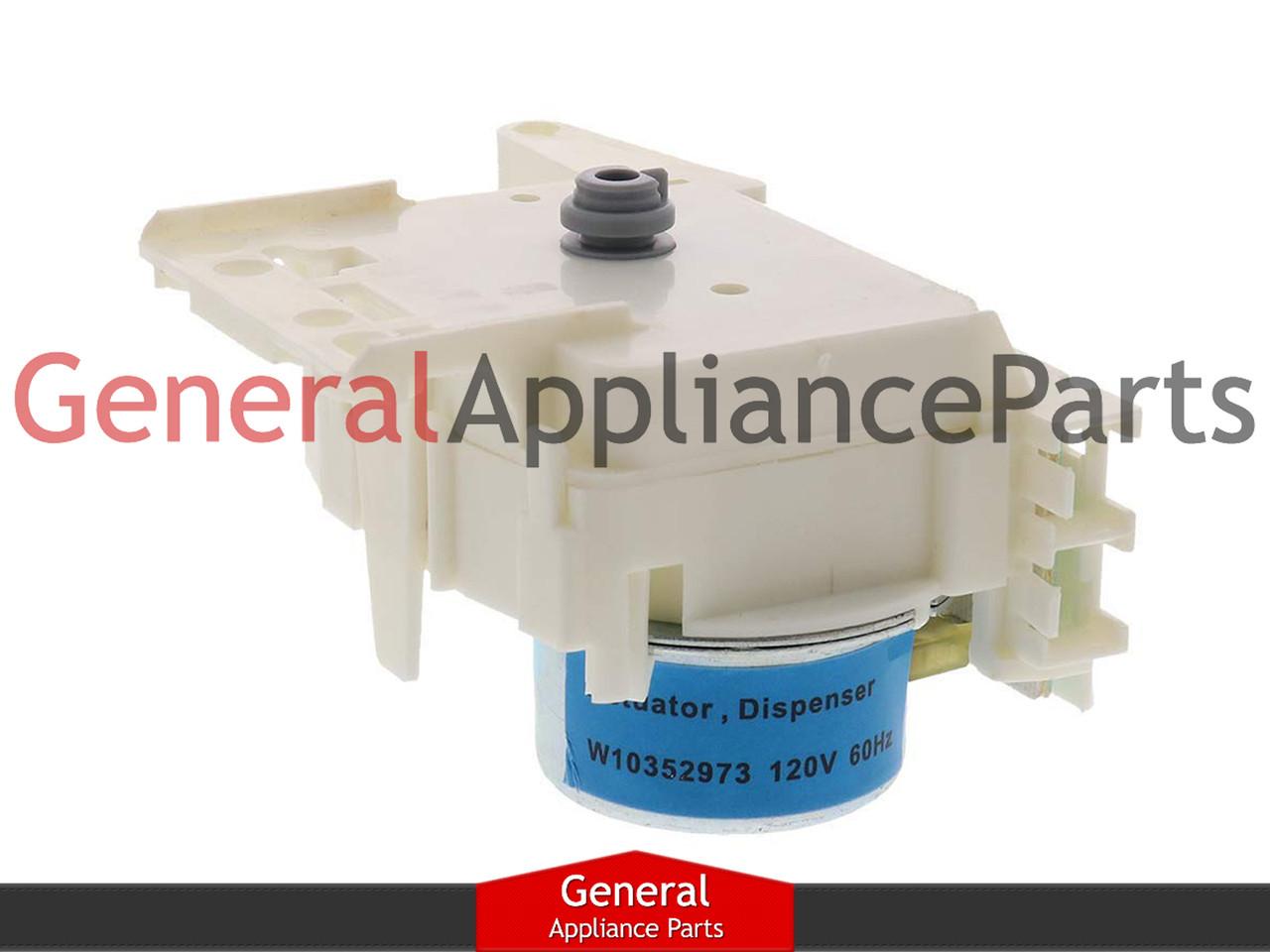 Whirlpool Kenmore Sears Washing Machine Dispenser Actuator W10352973 8183186