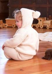 Pom Pom Baby Cardigan Kit