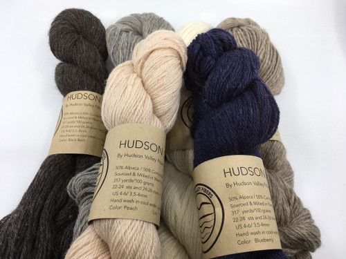 Hudson Sport 3 ply blend of alpaca and corriedale