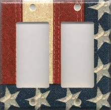 Old Glory - Double GFI/Rocker