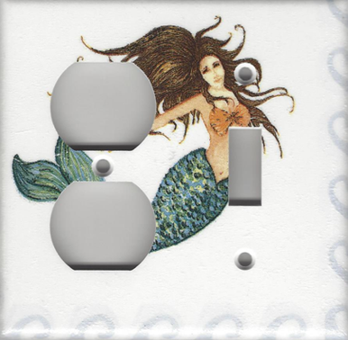 Brunette Mermaid - Double Combo Outlet & Switch