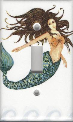 Mermaid - Brunette - Single