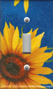 Blue Sunflower Single