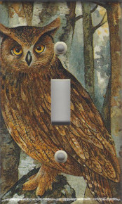 Forest Owl Single Switch