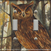 Forest Owl Double Switch