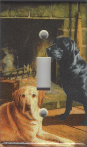 Black and Yellow Labs - Single Switch