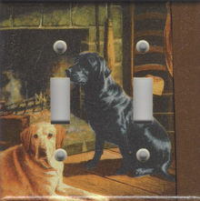 Black and Yellow Labs - Double Switch