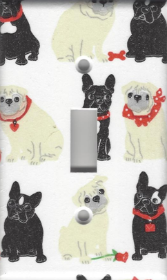 Pugs and Boston Terriers Single Switch
