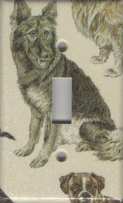 Dogs - German Shepherd - Single Switch
