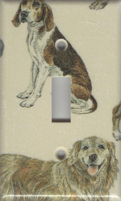 Dogs - Beagle, Golden Retriever - Single Switch