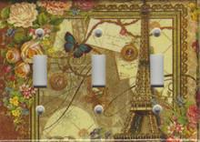 Eiffel Tower Triple Switch
