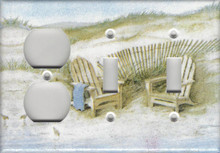 Adirondack Chairs on Dunes - Triple Combo Outlet & Switch & Switch