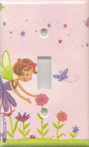 Fairy with Flowers Single Switch