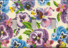 Lots of Pansies - Triple Switch