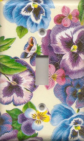 Lots of Pansies - Single Switch