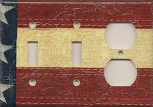 Old Glory - Triple Combo Switch & Switch & Outlet