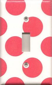 Hot Pink Polka Dots - Single