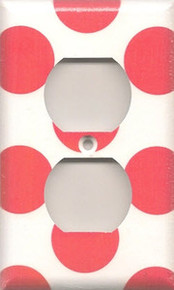 Hot Pink Polka Dots - Outlet