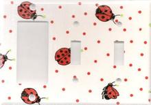 Ladybug - Triple GFI & Switch & Switch