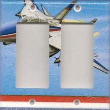 Jet/Plane - Double GFI/Rocker