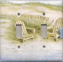 Adirondack Chairs on Dunes - Double Switch