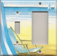 Beach Chair - Double Combo Switch & GFI