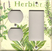 Herbs - Double Combo Outlet & GFI 988DCOG