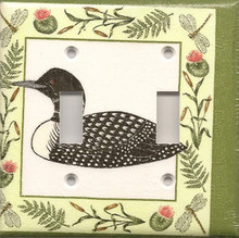 Loon with Dragonfly - Double Switch