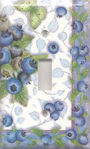 Blueberries & Butterflies - Single Switch