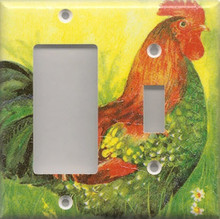 Red Rooster - Double Combo GFI & Switch