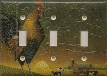 Barnyard Rooster - Triple Switch