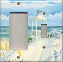 Beach Gazebo - Double Combo GFI & Switch