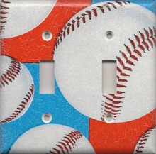Baseball - Red, White & Blue - Double Switch