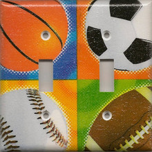 All Sports (Football, Basketball, Soccer, Baseball) - Double Switch