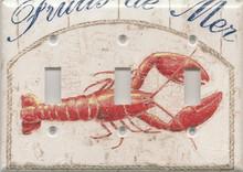 Lobster - White - Triple Switch