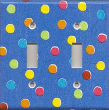 Blue Polka Dots - Double Switch