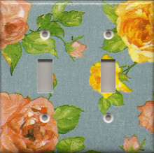 Roses - Blue - Double Switch