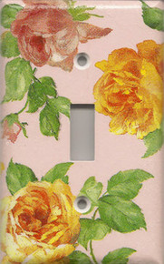Roses - Pink - Single Switch