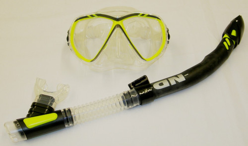 IST Sports Martinique Mask & Northern Diver Snakehead Snorkel