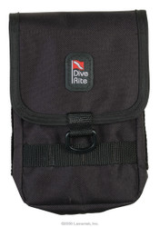 Dive Rite Harness Bellows Velcro Pocket with Daisy Chain Style Harness Attachment.