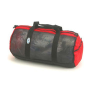 "Stahlsac Mesh Duffel Bag - 26"" with Red Trim"