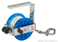 Dive Rite Scuba Diving Safety Reel 43m/140ft Line With Stainless Steel Snap bolt.