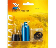 IST Scuba Diving Tank Keyring & Handy O Ring Holder. Choice of Colours.