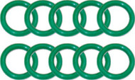 Beaver 111N UK Type Nitrox Cylinder Valve O-rings. Pack of 10.