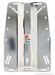 Dive Rite Stainless Steel Divers Backplate.