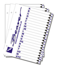 Beaver Log Book / Dive Folder Inserts- Directory